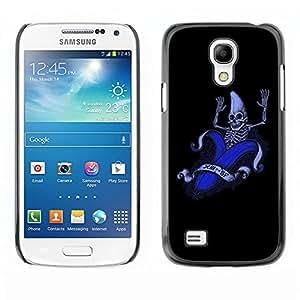"For Samsung Galaxy S4 Mini (NOT for regular S4) , S-type Divertido plátano Esqueleto"" - Arte & diseño plástico duro Fundas Cover Cubre Hard Case Cover"