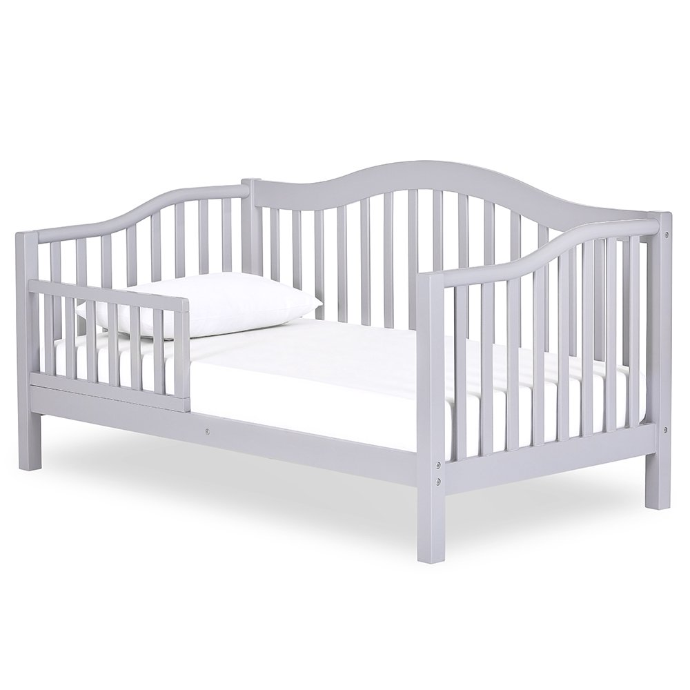 Dream On Me Austin Toddler Day Bed, Pebble Grey by Dream On Me