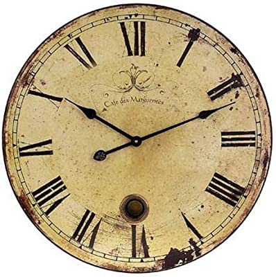 Amazon Com Roger Lascelles French Wine Ch 226 Teau Wall Clock