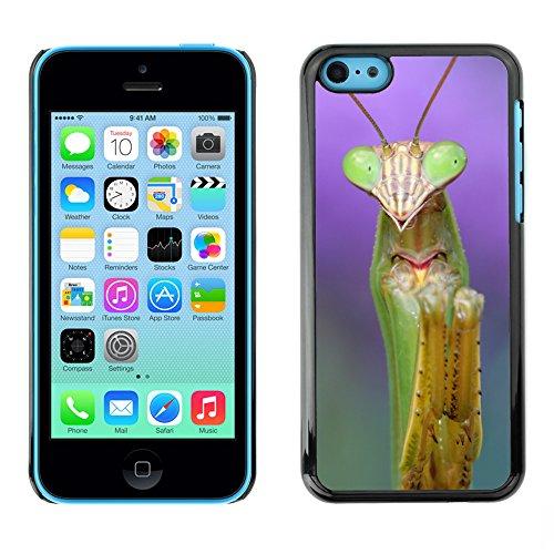 Premio Sottile Slim Cassa Custodia Case Cover Shell // V00001710 mante religieuse // Apple iPhone 5C
