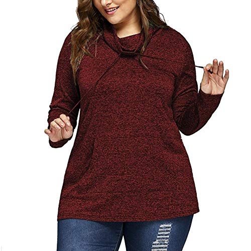 勧告単なる保存するLà Vestmon 女性の大きいサイズ ルーズ カジュアル ソリッドカラー ロングスリーブ 薄いコート セータートップス ポケット付き