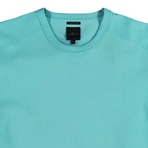 engbers Herren T-Shirt, 21597, Blautürkis