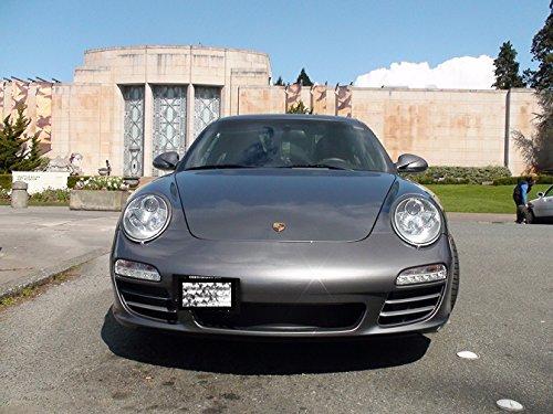 2006 2007 2008 2009 2010 2011 2012 Porsche 996 997 Carrera 911 Turbo o no Turbo licencia Plate Kit de montaje Kit de placa de licencia reubicación: ...