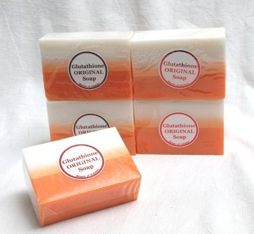 Kojic Acid & Glutathione Dual Whitening Bleaching Soap BUY 4 GET 1 FREE by D…