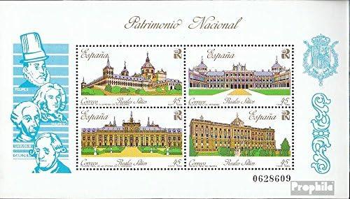 kompl.Ausg. Prophila Collection Spanien Block35 Briefmarken f/ür Sammler 1989 K/önigsschl/össer
