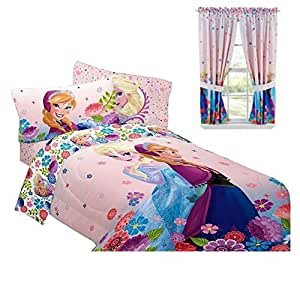 amazon com disney frozen bedroom decor anna elsa 15172 | 51yato2txwl sy300 ql70
