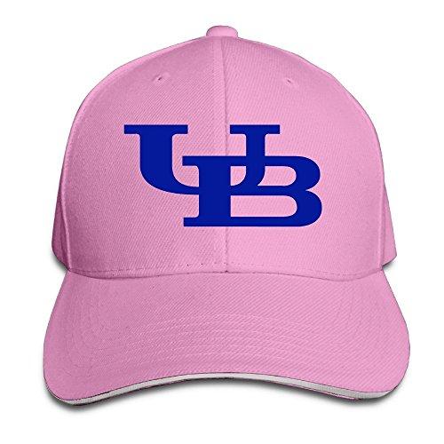 (ACMIRAN University At UB Logo Buffalo Funny Baseball Cap One Size Red)