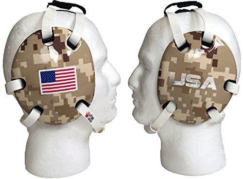 Desert Camo USA wrestling headgear by 4-Time All American