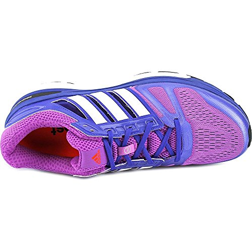 Adidas Supernova Sequence 7 Funcionamiento para mujer del zapato 5.5 flash rosado-blanco-noche flash Flash Pink-White-Night Flash