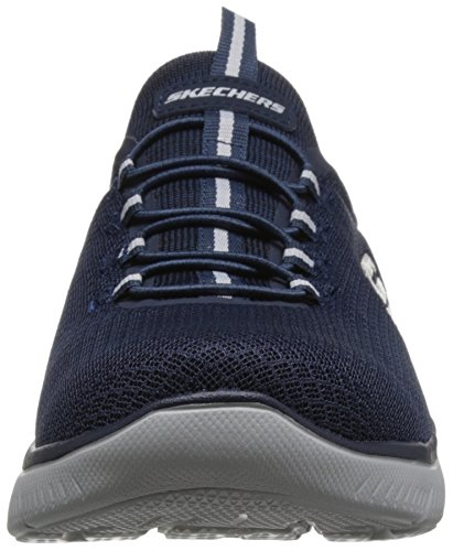 t Sneaker Skechers Highland Blau Blau Herren wzqfF7