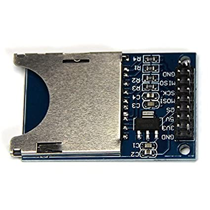 SD card reading and writing module microcontroller SPI SD interface