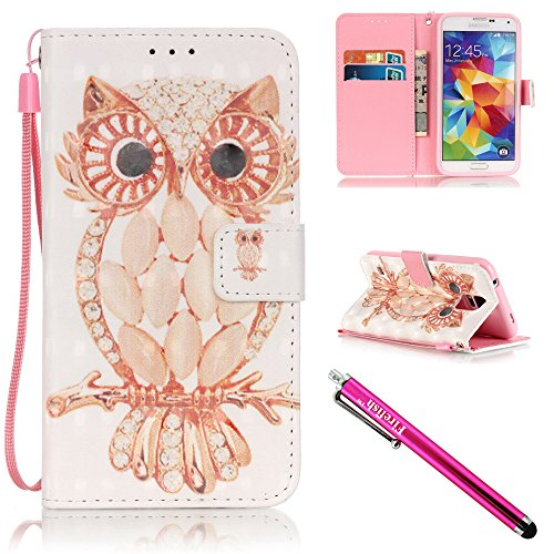 Firefish Resistance Protective Magnetic i9600 Owl