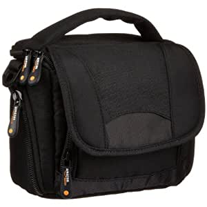 AmazonBasics Bag for Camcorders and Large P&S Cameras (includes strap)