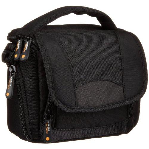 AmazonBasics Camcordertasche (mit Schulterriemen) schwarz