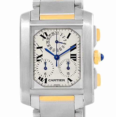 Cartier Tank Francaise quartz mens Watch W51004Q4 (Certified Pre-owned)