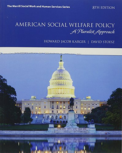 American Social Welfare Policy W/Access