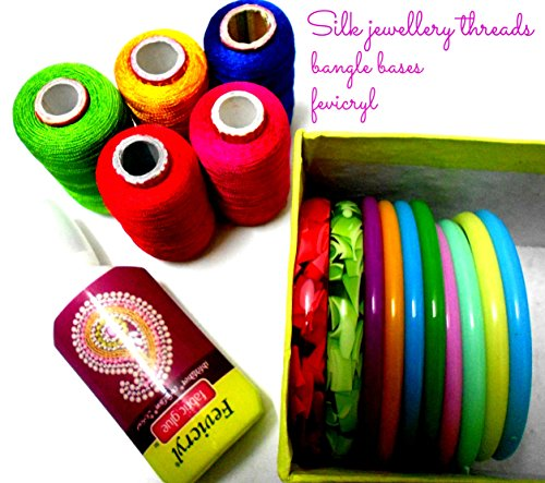 Silk thread bangle making kit!