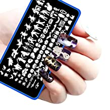 Susenstone Halloween DIY Nail Art Image Stamp Stamping Plates Manicure Template