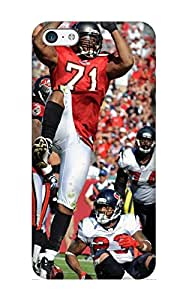 Hajtwz-754-gaxfrth Awesome Tampa Bat Bucaneers Nfl Football Flip Case With Fashion Design For Iphone 5c As New Year's Day's Gift