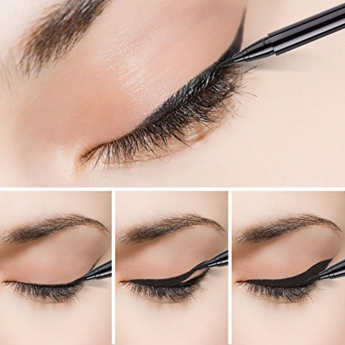 Docolor Liquid Waterproof Eyeliner Pen All Day Precise Slim Makeup Gel Black