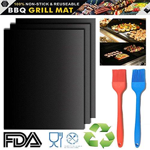 tidy grill bbq grill mat - 7