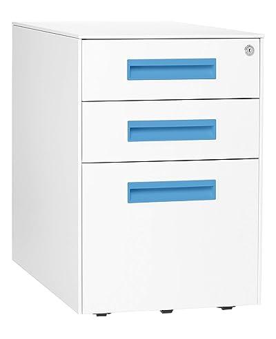 Stockpile Square Mobile 3-Drawer File Cabinet