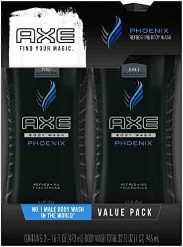 Axe Shower Gel, Phoenix 16 oz, Twin Pack