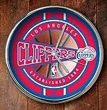 NBA LA Clippers Official Chrome Clock, Multicolor, One Size