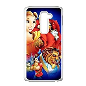 LG G2 phone case White Beauty and the Beast VFR4423679