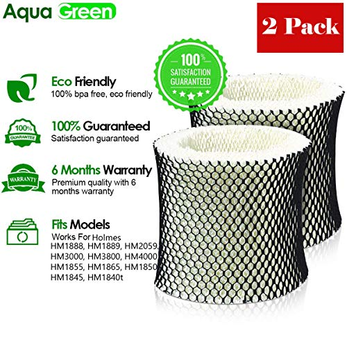 - AQUA GREEN 2 Holmes HWF65 C Humidifier Wick Replacement filter By