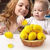 BigOtters 25PCS Artificial Lemons, 2 x 3 inches