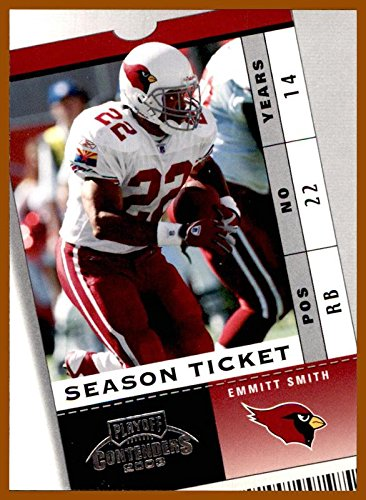 2003 Playoff Contenders #27 Emmitt Smith HOF ARIZONA CARDINALS FLORIDA GATORS