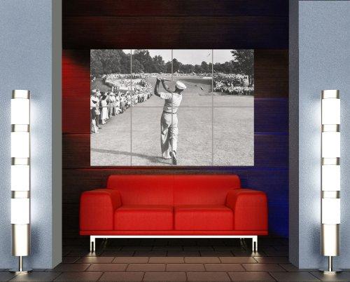 Ben Hogan Golf Golfing Legend New Giant Wall Art Print Picture Poster