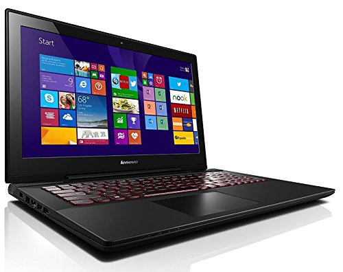 Lenovo Y50-70 Laptop Computer - 59445917 - Black: DOORBUSTER - 4th Generation Intel Core i7-4720HQ (2.60GHz 1600MHz 6MB)