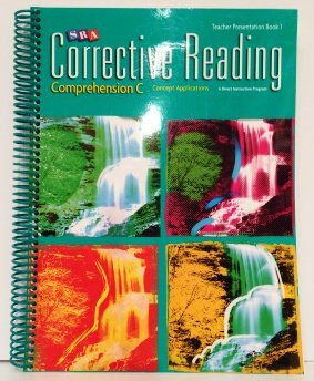 SRA Corrective Reading Teacher Presentation Book 1 : Comprehension C by n/a