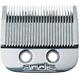 Andis Master Clipper Replacement Hair Clipper Blade, Silver, Model ML/SM (01556)