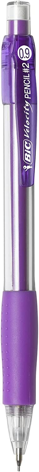 BIC Velocity Original Mechanical Pencil, Thick Point (0.9mm), 4-Count : Mechanical Pencils : Office Products