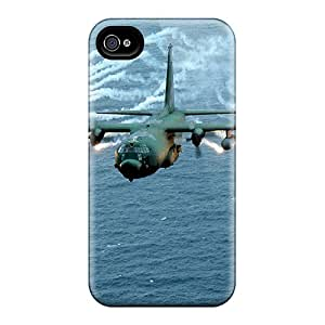 BabyCat Case Cover Protector Specially Made For Iphone 4/4s Fighter Plan