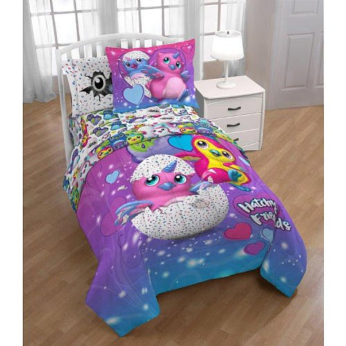 Hatchimals Twin Comforter and Sham Jay Framco