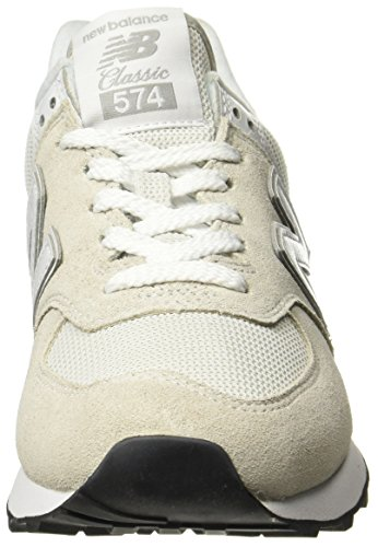 White 574v2 Para Blanco New Mujer Core Zapatillas Balance white 8wP7TP