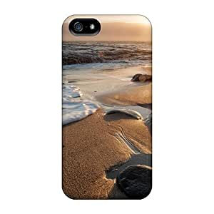 Case Cover Protector For Iphone 5/5s The Sun Departs Behind The Marine Layer Greyhound Rock County Park Case