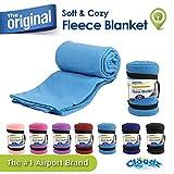 Cloudz Fleece Blanket - Sky Blue