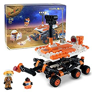 BanBao Building Blocks 6419 Mars Project Series, Kids' Building Toy Set , Building Kit Toy for Kids Aged 5 and Up, New 2020 (265 Pieces)