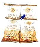 cosmos salted corn - Cosmos Creations Premium Puffed Corn 4 Pack, Gluten Free, Non GMO, Bonus One HG Grocery Bag Clip (Colors Vary) (Salted Caramel, 6.5 Ounce)