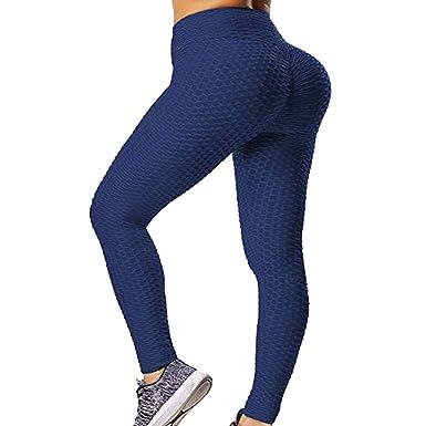 Buyaole Pantalones Chandal Mujer, Mujeres Moda Casual Deportes ...
