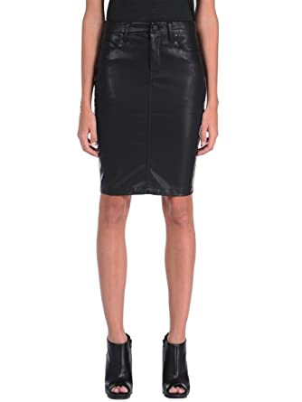 7bf482e054 Blank NYC Women's Faithful Pencil Vegan Leather Skirt in Pussy Cat Pussy  Cat - Black 24