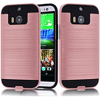 htc one m8 case. htc one m8 case,htc case,kmall metal brushed texture slim impact resistant htc case m
