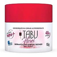 Desodorante Creme Antip.Tabu-Flores 55 Gr