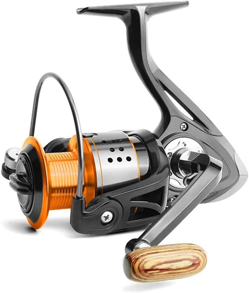 Wguili Carretes Carretes de Pesca Peso Ligero Agua Salada Spinning ...