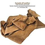 Memory Cross 3 lbs Real Cowhide Leather Scrap for
